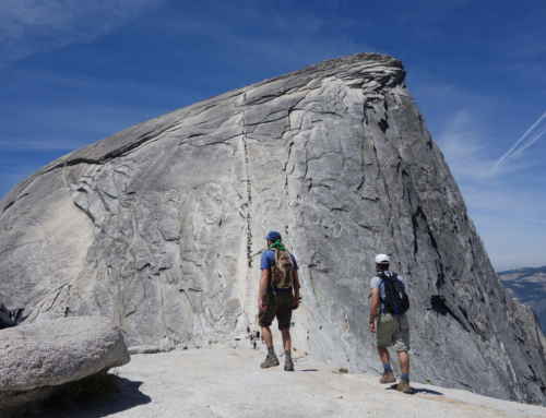 Through the lens: Yosemite's Half Dome