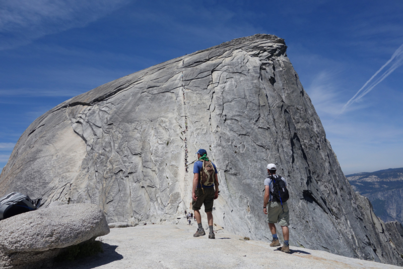 Through the lens Yosemites Half Dome