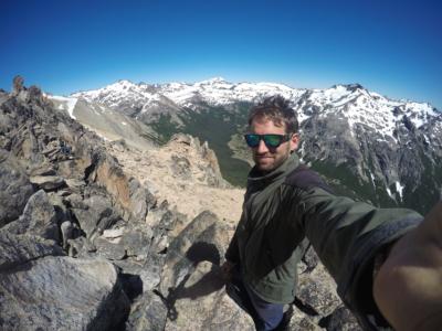 Shot on the trail near Bariloche