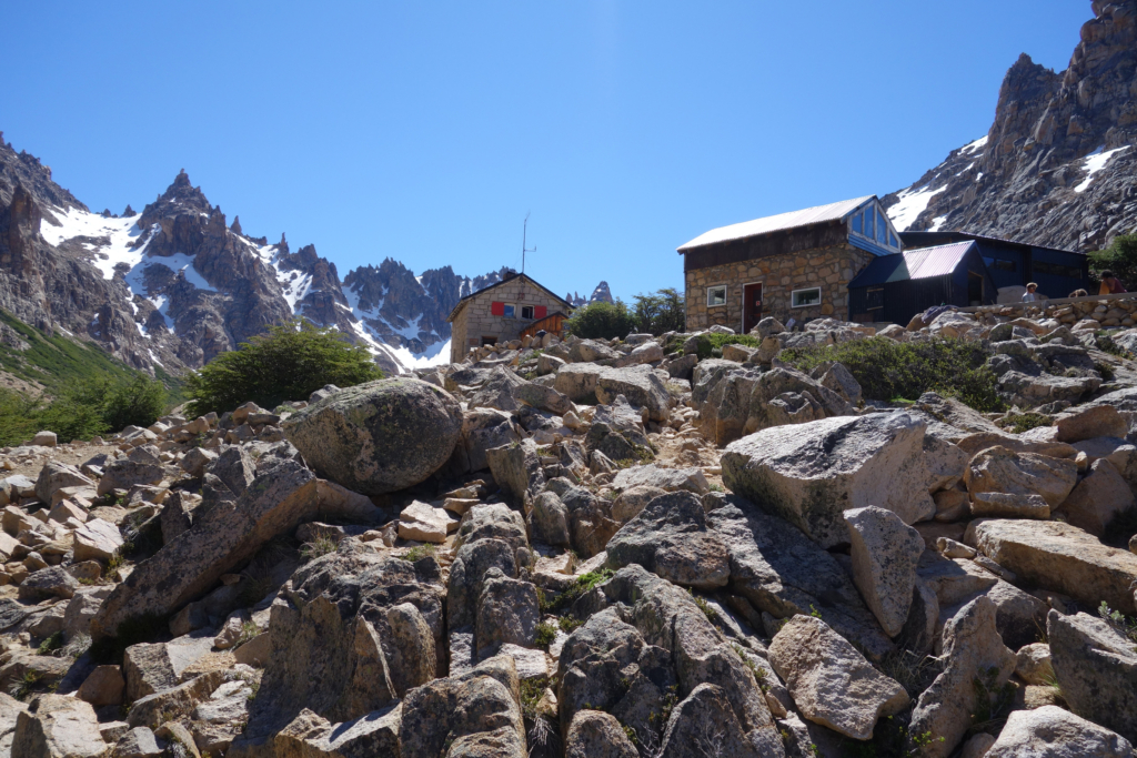 View of Refugio Frey.