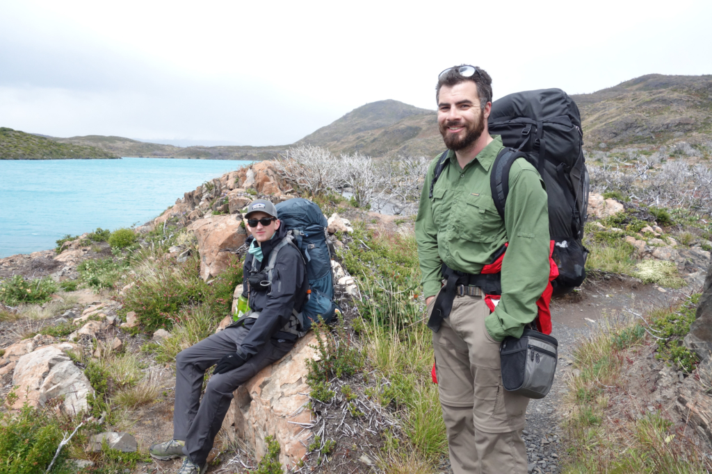 Friends I hiked with on the Torres del Paine circuit.