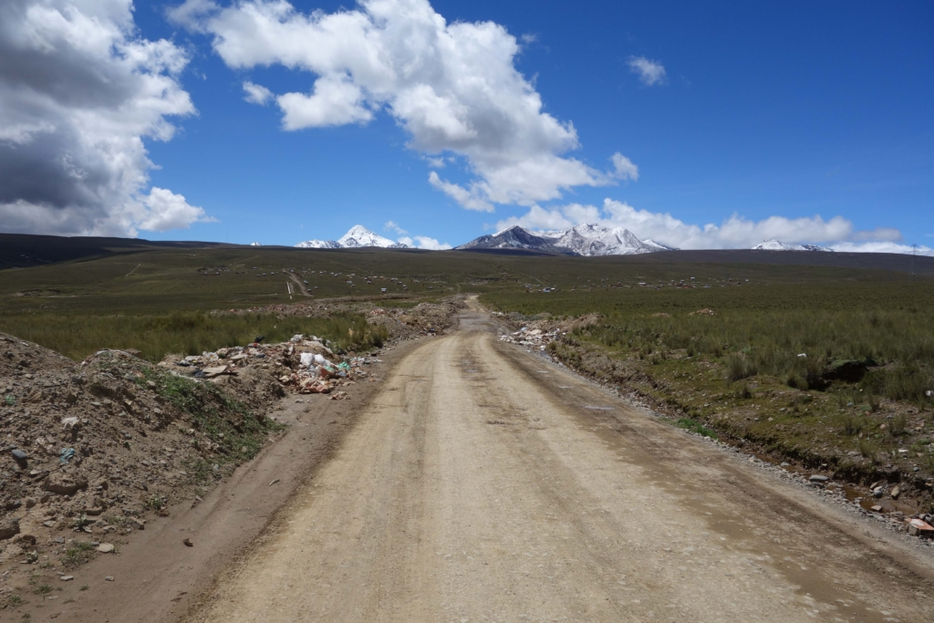 Huayna Potosi Mountain